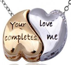 Couples Necklaces - His and Her Pendants