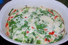 egg white quiche
