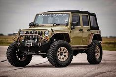 2013 Jeep Wrangler Rubicon with HPE450 Supercharged Upgrade - Hennessey Performance by Veloce003, via Flickr