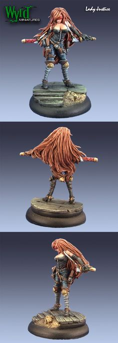 Lady Justice - Death Marshal by Wyrd Miniatures