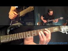 Money For Nothing Guitar Lesson - Dire Straits - Famous Riffs - YouTube