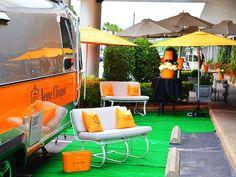 Veuve Clicquot Airstream makes bubbly  Houston stop