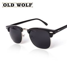 ee0b359f0 Aliexpress.com : Buy CLASSIC Half Metal Polarized Sunglasses Men Women  Brand Designer Rays Coating Mirror High Quality Sun Glasses Oculos De Sol  from ...