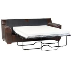 """Sleep Master - Sleeper Sofa Memory Foam Mattress Topper - Twin by Sleep Master. $54.99. An easy way to upgrade your fold out Sleeper Sofa mattress.. Twin: 35"""" x 72"""". 1.5"""" of pressure relieving memory foam comfort.. Zippered removable cover allows for easy cleaning. Corner bands allow for secure placement. Brings instant improved comfort and luxury to your sleeper sofa.. Sleep Master exceptionally comfortable 1.5"""" memory foam Sofa topper for a better night's sleep. Mem..."""