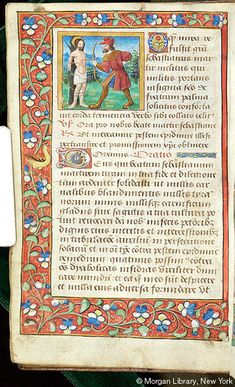 Book of Hours, MS M.1114 fol. 78v - Images from Medieval and Renaissance Manuscripts - The Morgan Library & Museum