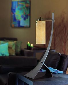 The Stasis table lamp from Hubbardton Forge was the winner of the Pinnacle Design Achievement Award presented by the American Society of Furniture Designers.