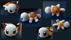 I am on a roll  Pikachu is already in the works  Anyway, here is Squirtle!  Hope you guys like him! As usual, I ask that you please credit me should you use or alter this pattern! &n...