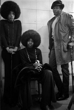 black panter party members | Super Seventies - Members of The Black Panther Party.