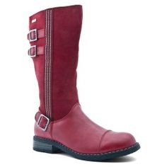 Aqua Gemstones, Dark Red Leather Zip-up Girls Shoes Warm Winter Boots, Kids Boots, Childrens Shoes, Boys Shoes, Shoe Collection, Snow Boots, Riding Boots, Chelsea Boots, Dark Red