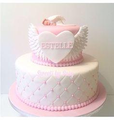 #tbt #christeningcake #baptismcake #angelcake #vings #pink #christening #cake #tårta #dop #doptårta #ängel #namngivelse #stockholm #solna