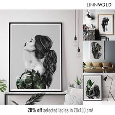 The weekend is here, let's celebrate 🙌🏻 my most popular ladies now with a discount of on size cm! The bigger the poster, the better it gets! Ending sunday.no (link in bio) Style Tropical, Deco Boheme, Green Style, Lets Celebrate, Green Fashion, Gallery Wall, Sunday, Popular, Living Room