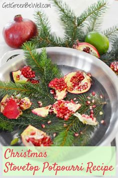 Add Christmas smells to your home right now with this simple stovetop potpourri recipe. This natural air freshener uses foods and plants to fragrance your indoor air without chemicals. Simmering Potpourri, Potpourri Recipes, Diy Christmas Tags, Rustic Christmas, Christmas Ideas, Christmas Decorations, Xmas, Christmas Tree, Holiday Decor