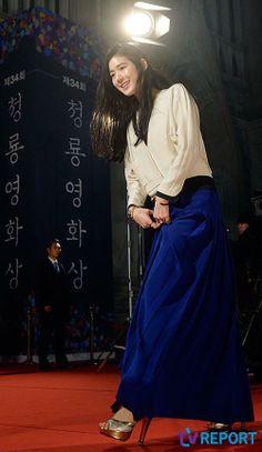 Jung Eun Chae @ 34th (2013) Blue Dragon Film Awards » Dramabeans » Deconstructing korean dramas and kpop culture