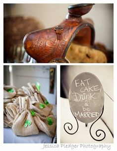 country wedding party favors DIY Jessica Pledger Photography
