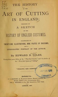 The history of the art of cutting in England;