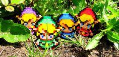 Link ( The Legend Of Zelda ) - Hama Beads - Pixel by Kukirio on DeviantArt
