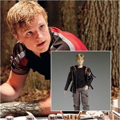 Josh Hutcherson as Peeta Mellark: The Hunger Games - Movie Masterpiece Collectible Doll