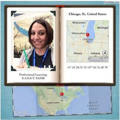 Free Technology for Teachers: Photo Mapo for Archiving Summer (and other things)