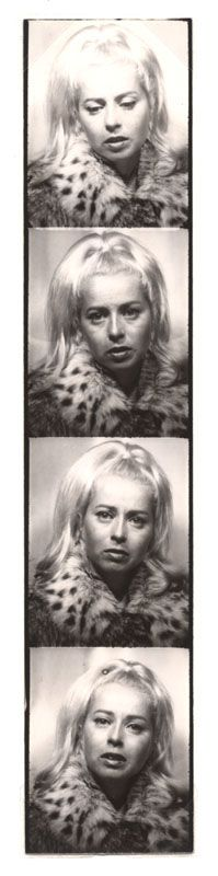 Andy Warhol, Photo booth Strip (Holly Solomon 110), ca. 1964