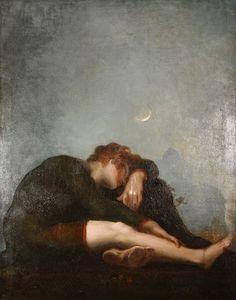 Johann Heinrich Füssli (1741-1825), Loneliness in the morning Twilight.