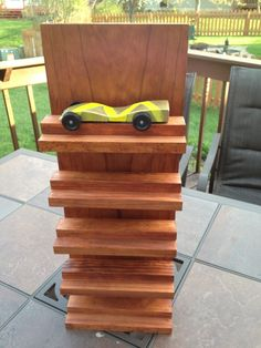 Pinewood Derby Car Display Case Woodworking Pinterest