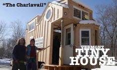 """The Charlavail"" A Rustic, Solar, Tiny House on Wheels"