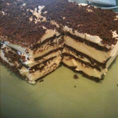 Ice cream sandwich cake!
