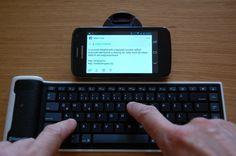 Feltekerhető bluetooth billentyűzet Android/iOS-hoz – teszt   Rendszerigény.hu