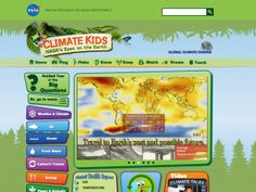 Climate Kids offers kids clear answers to questions on global climate change… Science Websites For Kids, Great Websites, Science Resources, Science Lessons, Science For Kids, Science Activities, School Websites, Science Ideas, Grade 2 Science