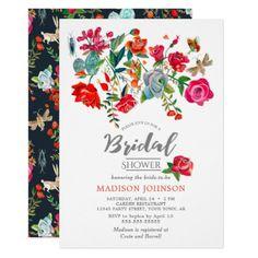 #bridal - #Secret Floral Garden | Bridal Shower | Invitations