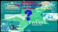DreamRJ's Personal Top 10 Games Of All Time!!!
