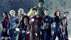 Imagen con los protagonistas de Vengadores 2: La Era de Ultron