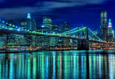 """Puzzle EDUCA """"Manhattan de noche"""", 1.000 piezas."""
