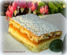 Historický koláč, známy aj obľúbený nielen v slov. Eastern European Recipes, Czech Recipes, Oreo Cupcakes, Mini Cheesecakes, Sweet And Salty, Food 52, Baked Goods, A Table, The Best