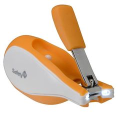 MUST HAVE  this clipper with the built in light is great! you'll be amazed how much that light comes in handy when you are struggling with cutting a wiggly babies nails. you never seem to have enough light but this really works  Safety 1st Sleepy Baby Nail Clipper - Safety 1st