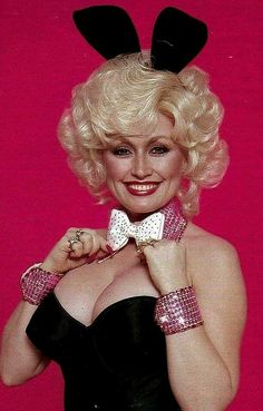 4ce12128a Dolly Parton in Playboy,