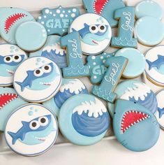 If your little one is obsessed with the Baby Shark series, imagine how happy they would be to see their very own baby shark cookies at their birthday party! Baby Shark cookies are incredibly easy to make, whether you choose to use vibrant Royal Icing to make the colors stand out or opt for something …