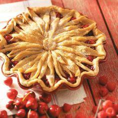 Strawberry strusel pie