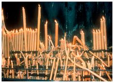 Nan Goldin | Fatima candles (Portugal 1998) - Matthew Marks Gallery