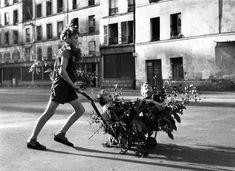 Atelier Robert Doisneau |Galeries virtuelles desphotographies de Doisneau - Paris : Occupation, Libération