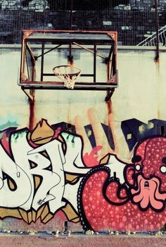 Basketball & graffiti