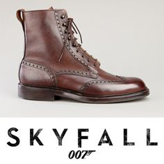 James Bond Skyfall brogue boots