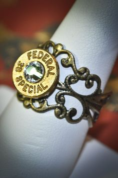 Bullet Filigree Ring! Check Out this shop!!