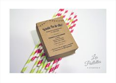 #design #diseño #invitation #tarjeta #party #brindis #pialtes #kraft