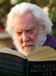 To kill a mocking jay President Snow, Church Games, Donald Sutherland, Mocking Jay, Game Quotes, Teen Kids, Hunger Games Trilogy, Catching Fire, Games For Girls