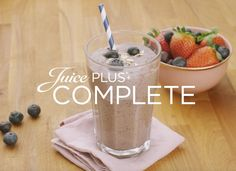 Juice PLUS+ Smoothie aux myrtilles