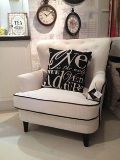 Fotel Tapicerowany LEONIA 85x88x86 cm Meble Francuskie Weranda
