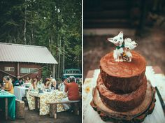 Playful Montana Cabin Wedding: Jamie + Jake