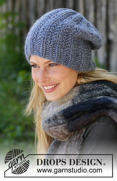 Women - Free knitting patterns and crochet patterns by DROPS Design Baby Hat Knitting Pattern, Knitting Patterns Free, Free Knitting, Crochet Patterns, Drops Design, Knit Crochet, Crochet Hats, Knitting Blogs, Knitting Accessories