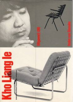 "Ineke van Ginneke ""Kho Liang le: interieurarchitect/industrieel ontwerper"" 010 Publishers, Book designed by Wim Crouwel, 1986"